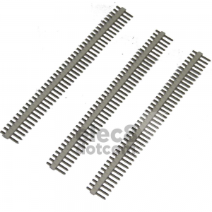 Male Header 2.54MM pitch single row 1x40 pin white price 5 baht