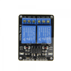 Relay 2 Channel 5V (Opto-Isolated) Active High/Low for Arduino PIC AVR MCU DSP ARM price 100 baht