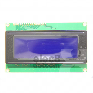 2004 LCD (BlueScreen) 5VDC 20x4 LCD with backlight price 220 baht