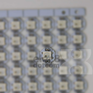 WS2812B 5050 RGB LED (White PCB Board) price 9.5 baht