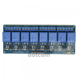 Relay 8 Channel 5V (Opto-Isolated) Active High/Low for Arduino PIC AVR MCU DSP ARM price 300 baht