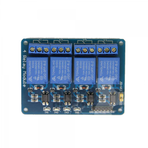 Relay 4 Channel 5V (Opto-Isolated) for Arduino PIC AVR MCU DSP ARM price 160 baht