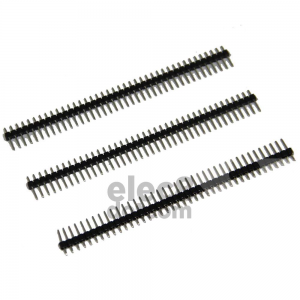 Male Header 2.54MM pitch single row 1x40 pin price 5 baht