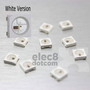 WS2812B 5050 RGB LED (White PCB Chip) price 8.5 baht